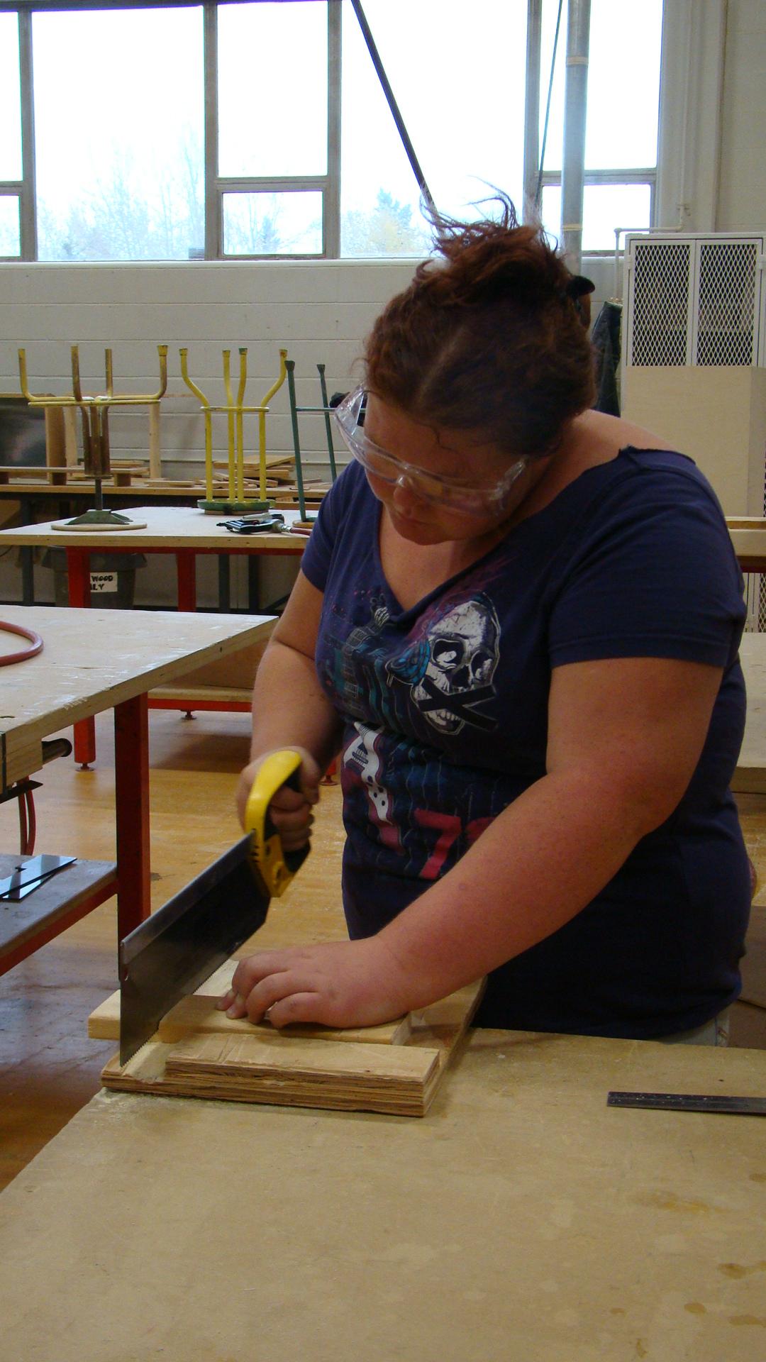LTCHS woodworking