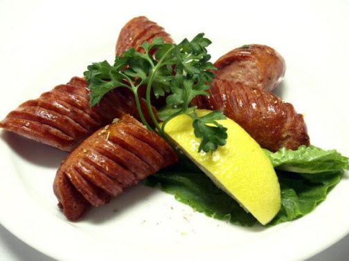 Athens Loukaniko is the common Greek word for flavoured pork sausage