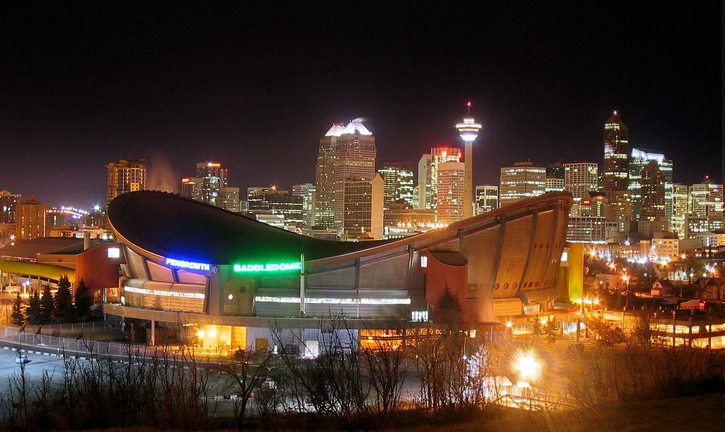 Calgary-SaddledomeNight