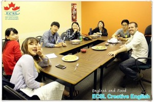 English and food 1