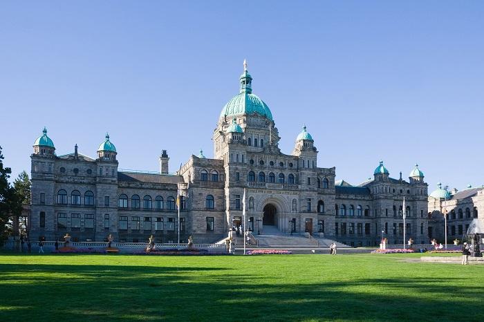 British Columbia Parliament Buildings, Victoria, Canada